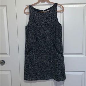 Ann Taylor LOFT Tweed Shift Dress